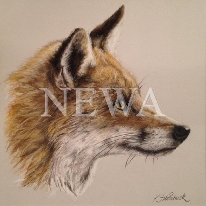 Red Fox by Kirstie Fitzpatrick