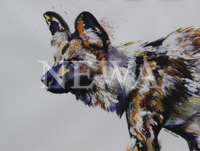 Painted Dog by Fiona Champion