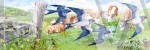 Summer Meadow (ed Of 1) by Dennis Roddam